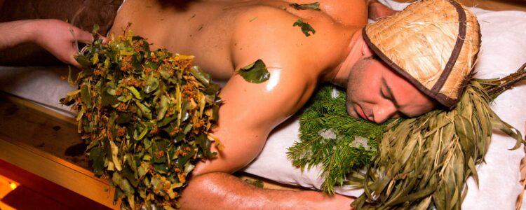 Приёмы парения в бане